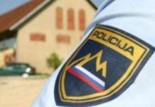 Policija poročilo, slovenska policija