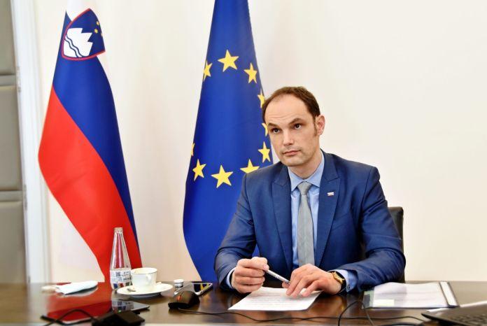 Minister dr. Logar na virtualnem zasedanju | Avtor Ministrstvo za zunanje zadeve
