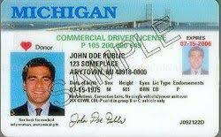Michigan Commercial Drivers license