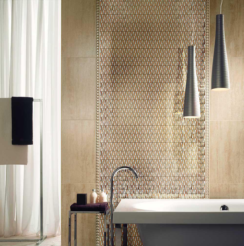 elegant pink backsplash accent wall stainless steel mosaic tile glossy