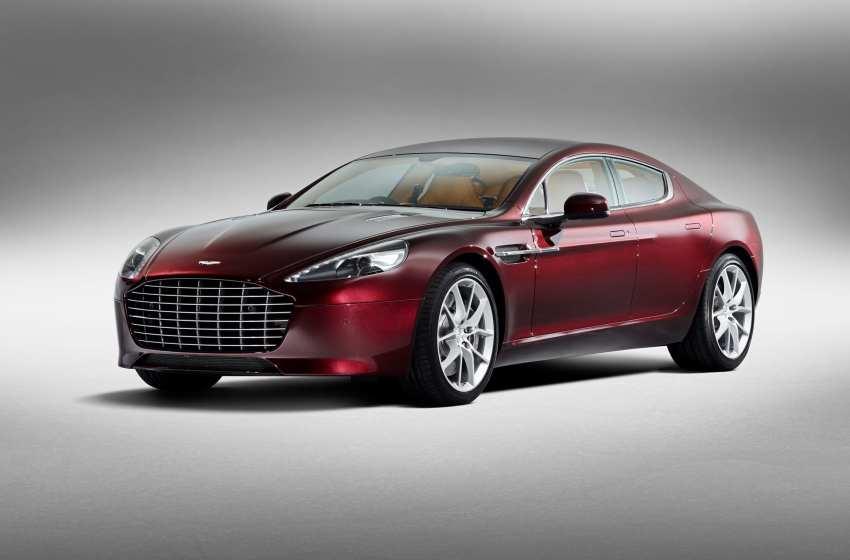 Aston Martin Türkiye'de en fazla Rapide S sattı