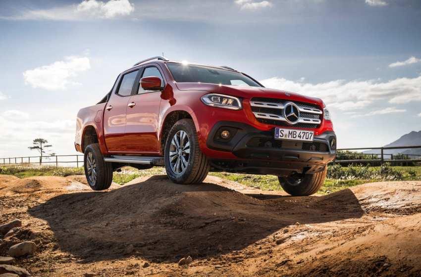 Mercedes-Benz X-Serisi Cape Town'da tanıtıldı