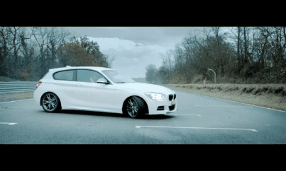 BMW M135i yeni yılı kutluyor!