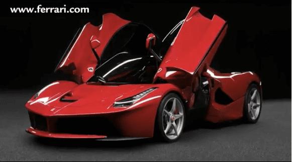 İşte 800 HP'lik LaFerrari (Video)