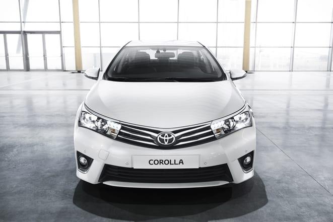 İşte yeni Corolla