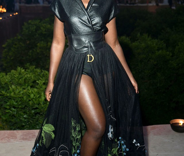 Lupita Nyongo Katie Holmes More Stars Flaunt Sexy Leather