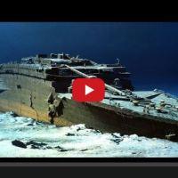 Вижте как изглежда Титаник сега след толкова време под водата (видео)