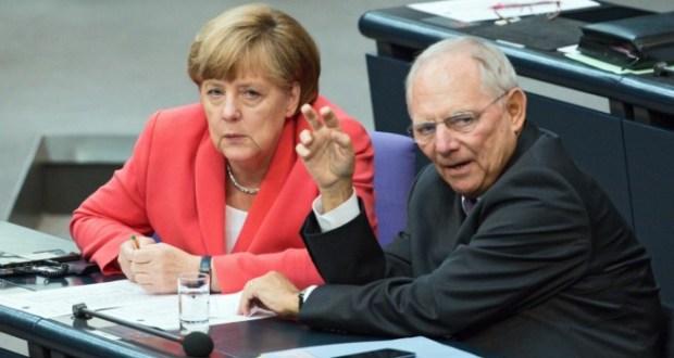 Шойбле и Меркел