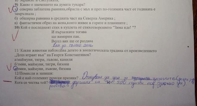 Третокласник взриви България: Отказвам да уча за цигани и турци!