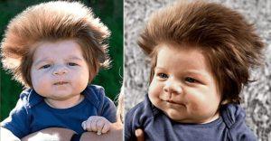 Помните ли 2-месечното бебе с най-гъстата коса? Вижте как изглежда днес