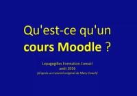 image : qu'est-ce qu'un cours Moodle ?