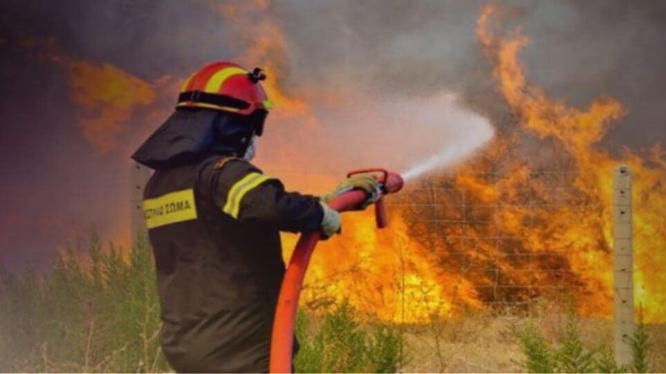ΕΚΤΑΚΤΟ: Φωτιά τώρα στη Νέα Πέραμο