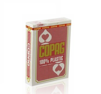 Karty Copag Jumbo 4P Red