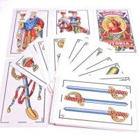 Tarot / Tarok – hiszpańskie karty do gry Gigant 111 Fournier