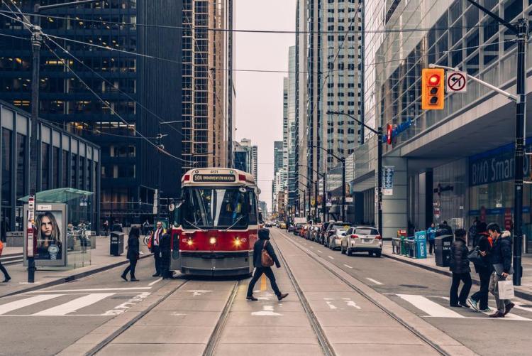 toronto streetcar