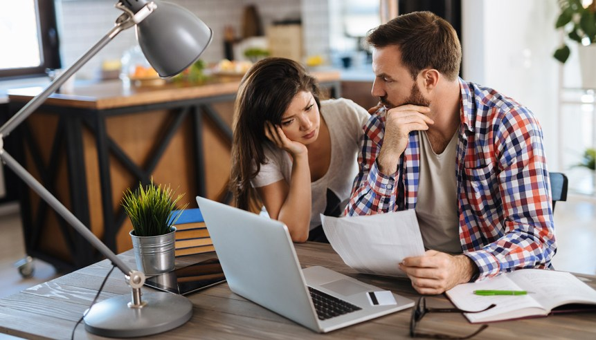 A couple weigh their odds when considering to renew their mortgage.