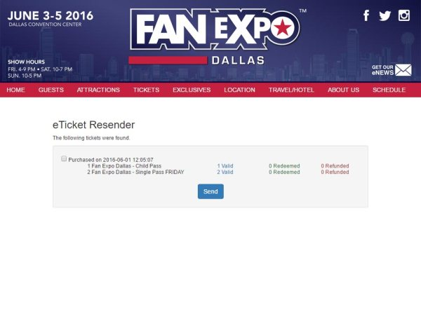 e-Ticket Resender page 2