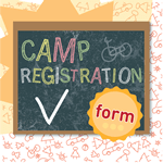 Camp Registration Form Templates