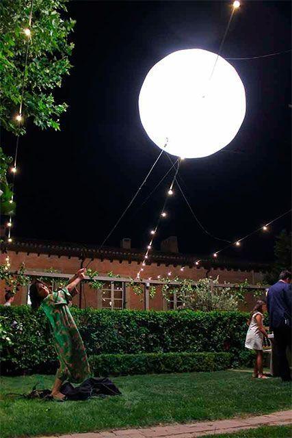 San Miguel - Iluminación muy especial para bodas