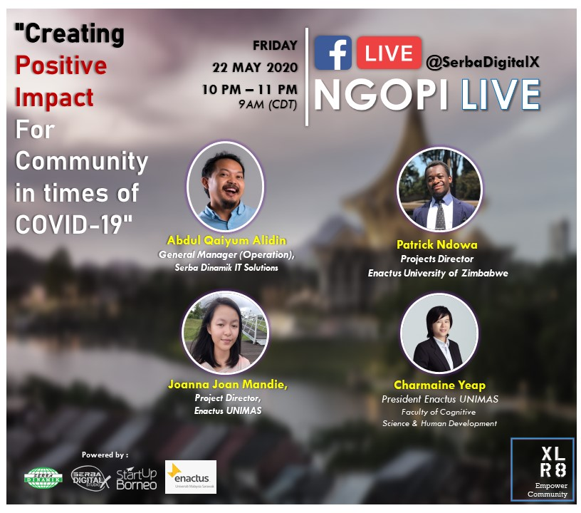 Poster Ngopi Live 7 (Enactus)