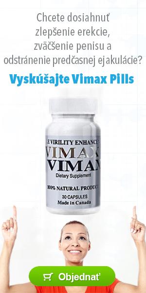 Vimax pills - podpora erekcie