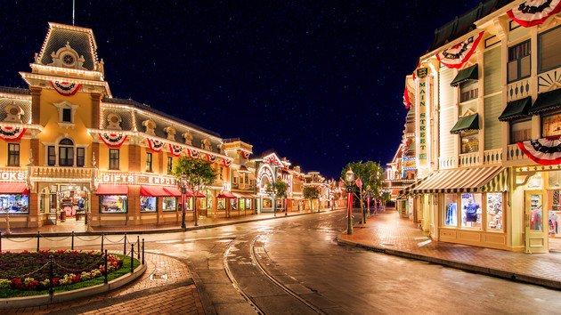 Disneyland Ana Cadde