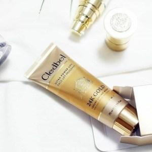 Лифтинговая маска - пленка Ultra Lift 24K Gold