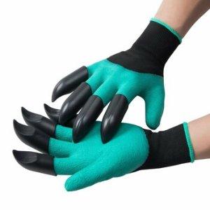 Перчатки с когтями для сада - Garden Genie Gloves