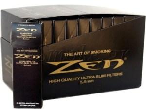 Φιλτράκια Στριφτού ZEN BLACK Extra Slim 5.4mm