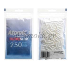 Φιλτράκια Atomic Slim 6 mm 250 τεμ