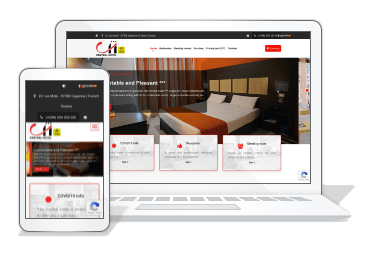 Le site du Central Hôtel change de look