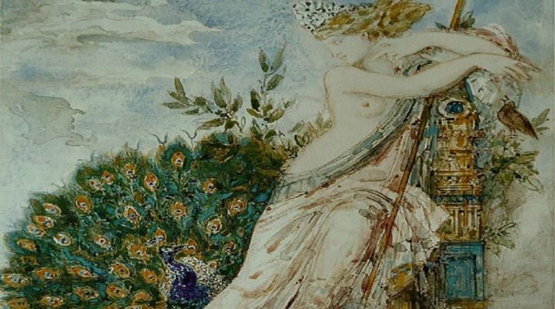 Juno, Gemälde von Gustave Moreau