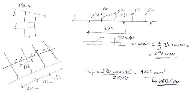 Sustitución de estructura de cubierta de estructura metálica inclinada