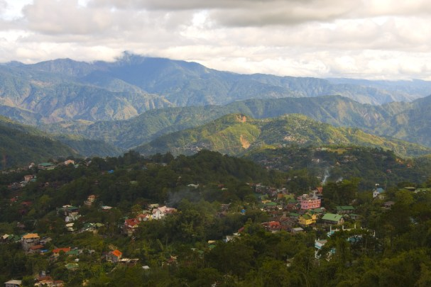 View of the roof tops from an open window Baguio City, The Pilipinas