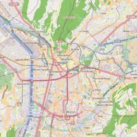 Carte - Ville de Grenoble