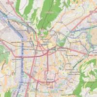 Carte - Ville de Grenoble