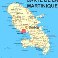 Carte de la Martinique - Images