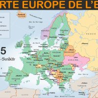 Carte Europe de l'est - Images et Photos