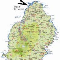 Carte île Maurice