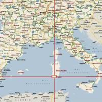 Carte France - Italie