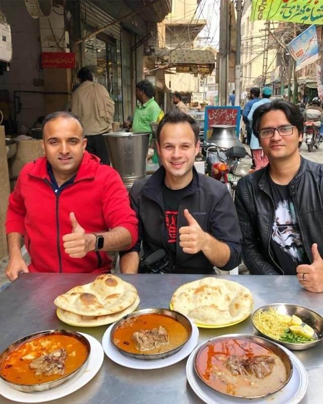 The Food Ranger aka Trevor James is finally here in Pakistan