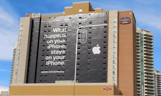 'Privacy matters' is the slogan for Apple's latest iPhone Ad