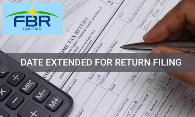 FBR has extended the date for filing of Income Tax Return 2018