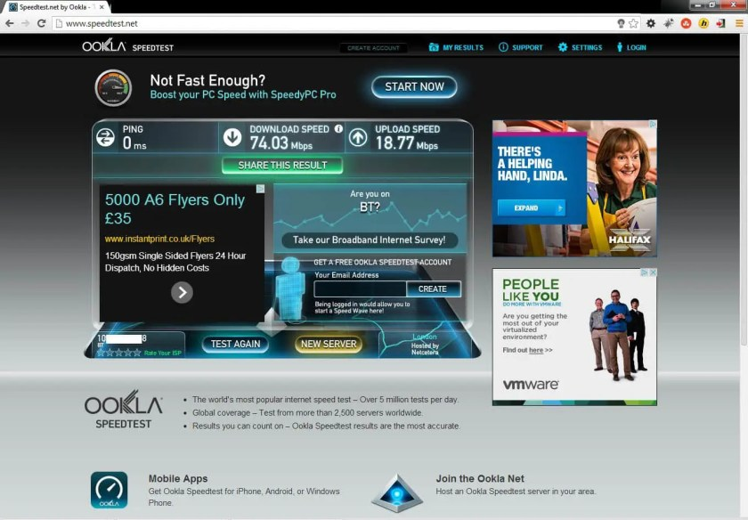 Broadband speed after fix 3-2-14 copy
