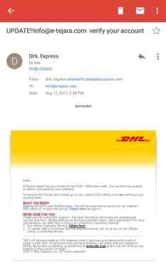 إحذر فتح هذا النوع من البريد الإلكتروني