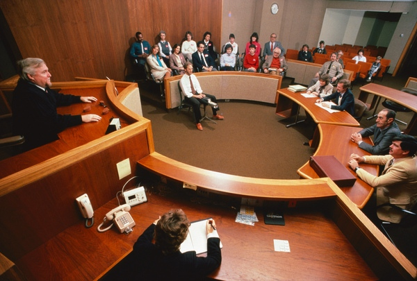 abogados en los tribunales