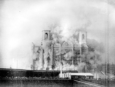 Catedral ortodoxa rusa destruida por Stalin