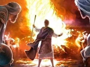 Las inyecciones que contienen grafeno, Elías y los profetas de Baal