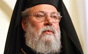Λέει ότι δέχθηκε ο Αρχιεπίσκοπος Χρυσόστομος