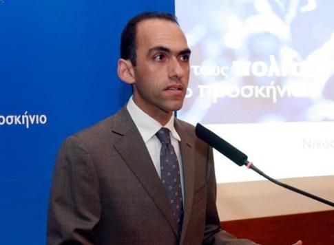Ο νέος υπουργός Οικονομικών της Μεγαλονήσου Χάρης Γεωργιάδης